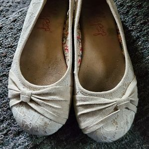 Womens Jellypop Lace Flats size 7.5!